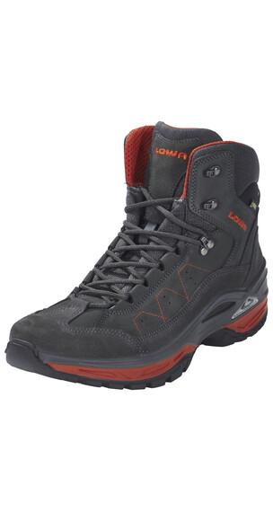 Lowa Toro II GTX Mid Shoes Men anthrazit/rost